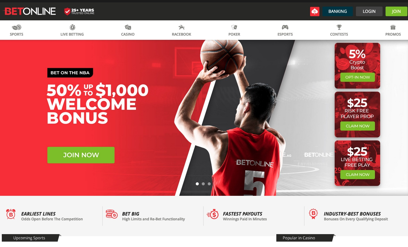 Online sports betting in the united states