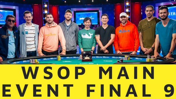 WSOP Final Table Players