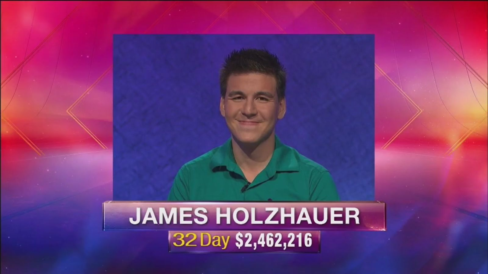 Jeopardy champ James Holzhauer