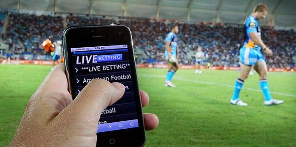 in game live sports betting