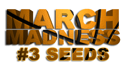 March Madness 3rd seeds