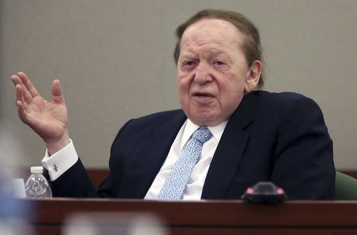 Sheldon Adelson death Wire Act repeal
