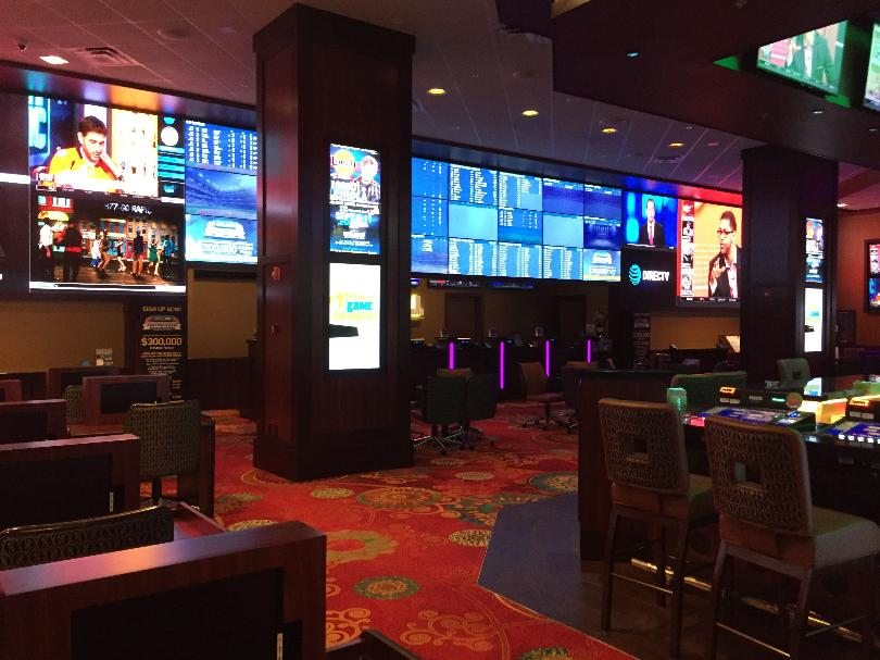 sports betting handle in Las Vegas
