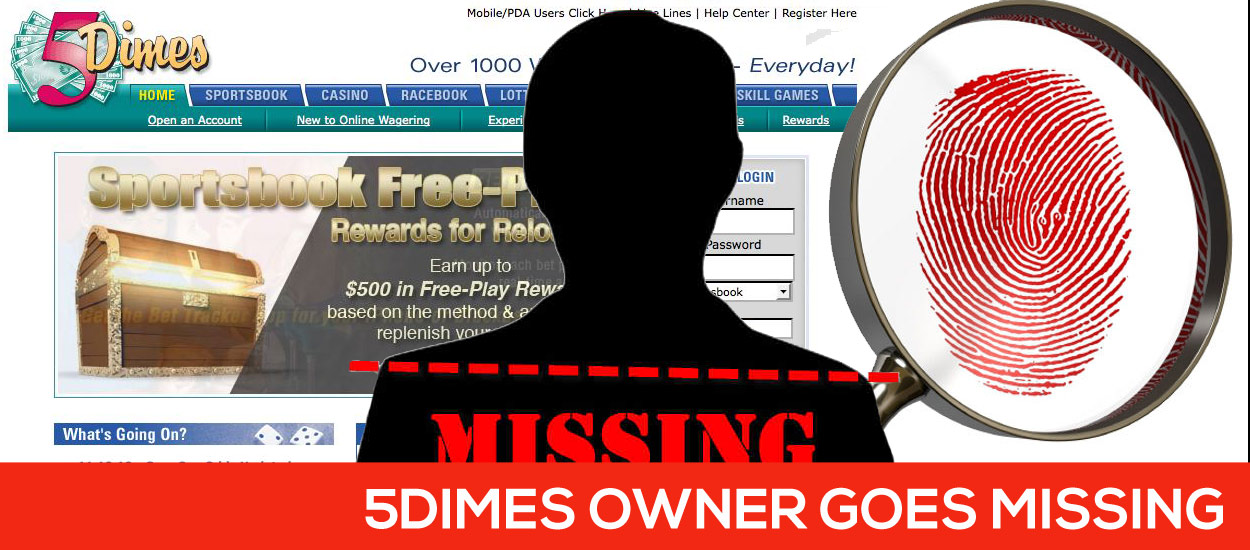 5Dimes Owner Missing Sportsbook Still Operating Strong