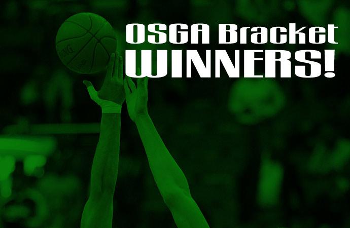 OSGA Announces Winners of 2019 NCAA Tournament Challenge